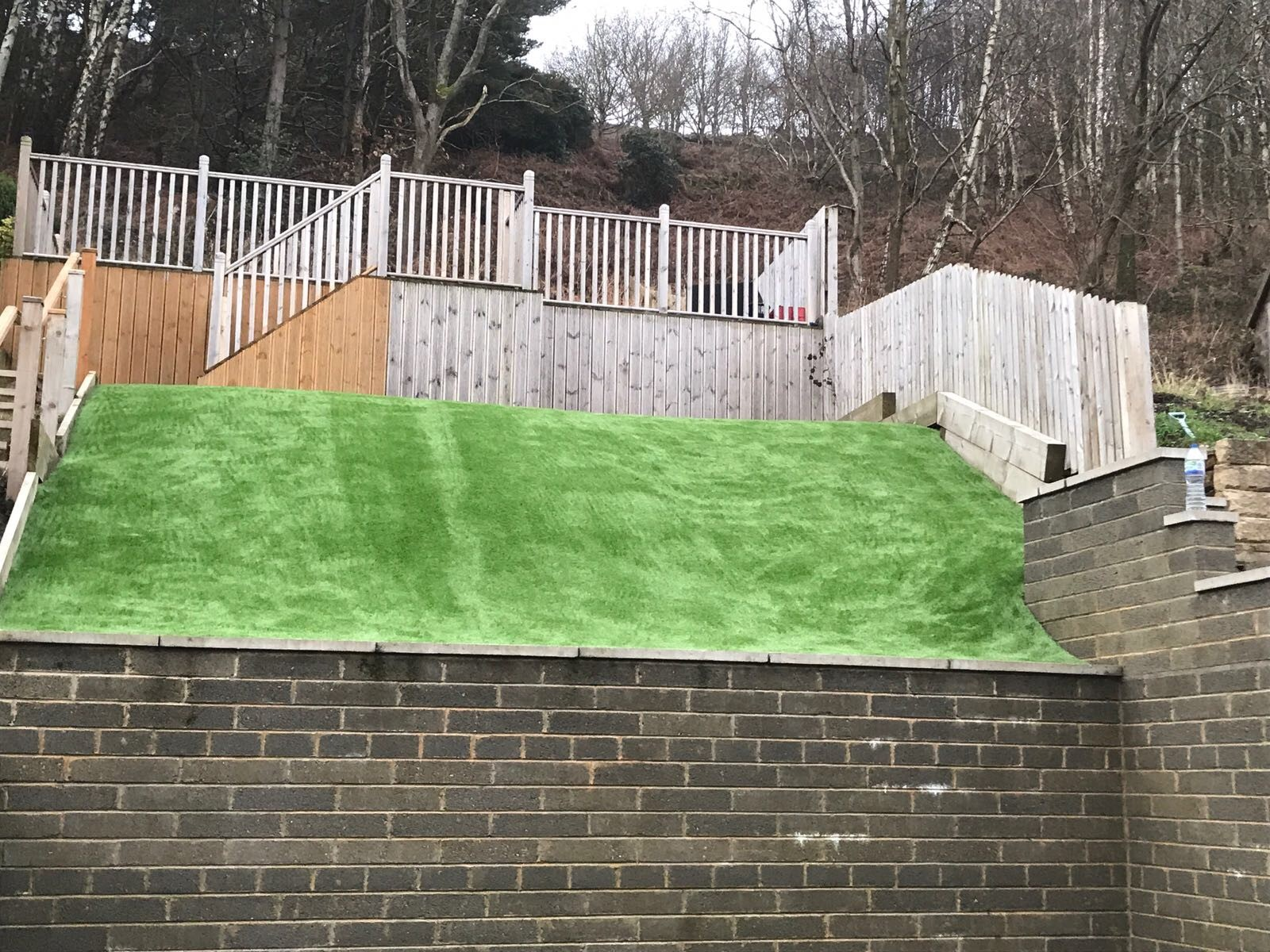 After Artificial Grass Installation in Cornwall