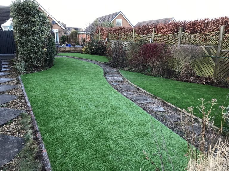 after artificial lawn in st albans