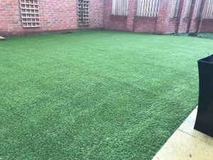 artificial grass after in newquay