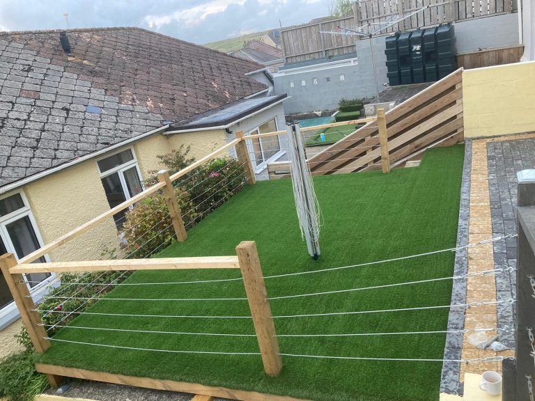 Artificial grass installers Newquay